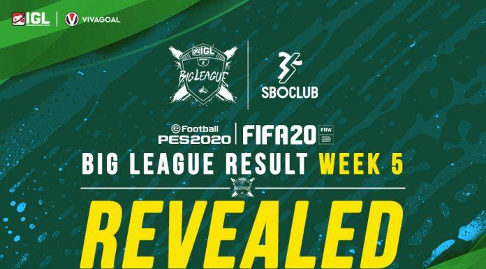 Panen Gol di Big League Minggu Kelima FUT Cup IGL