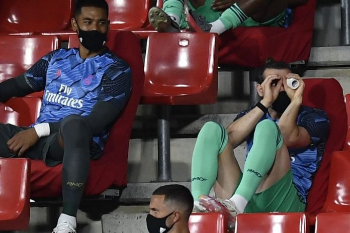 Bale Bikin Ulah Konyol di Bench Pemain, Zidane Akui Tak Ambil Pusing