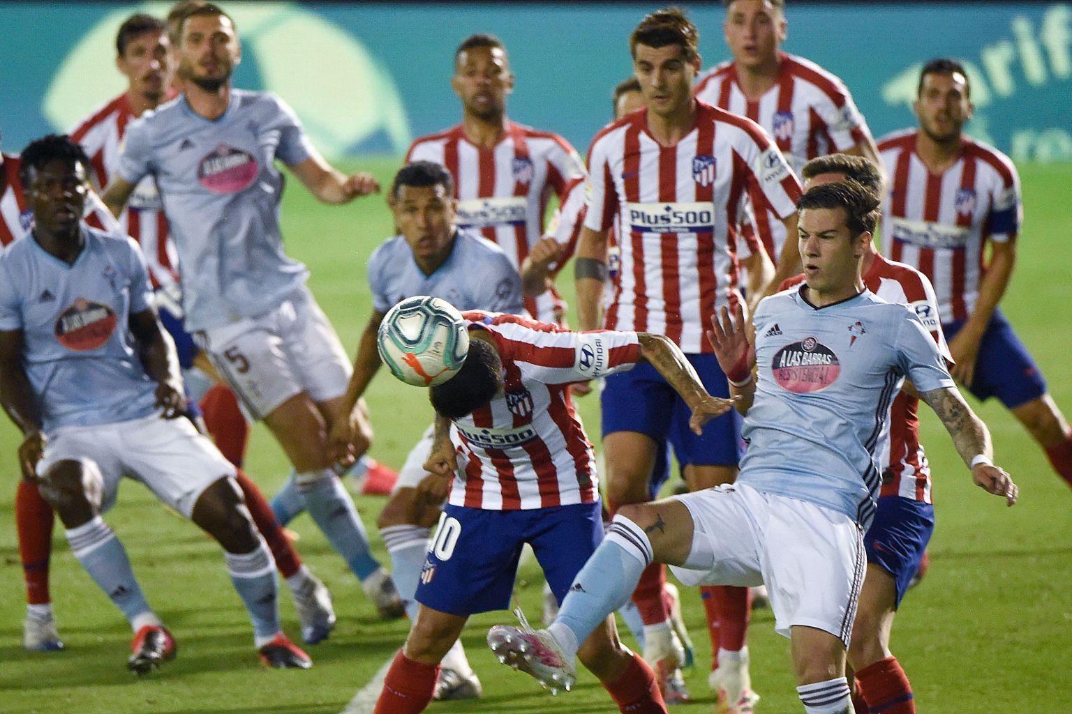 Batal Menang, Atletico Diimbangi Celta Vigo 1-1 Di Balaidos