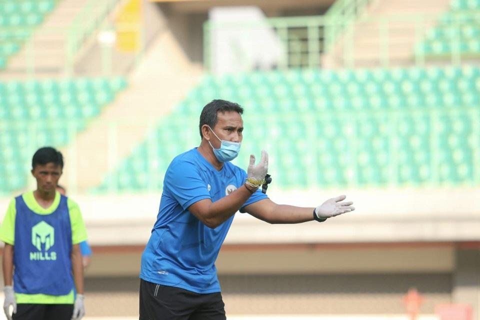 Bima Sakti Pelatih Timnas Indonesia U-16