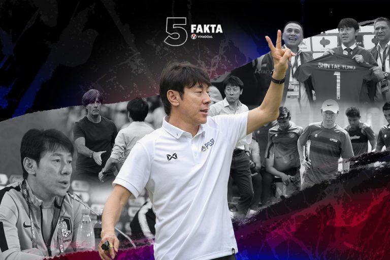 5 Fakta Pelatih Tim Nasional, Shin Tae-Yong