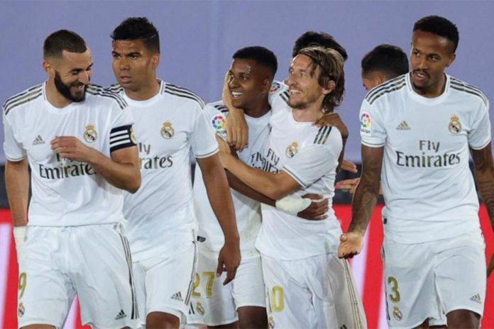 Diambang Juara, Real Madrid Himbau Fans Rayakan Gelar Juara di Rumah Masing-Masing