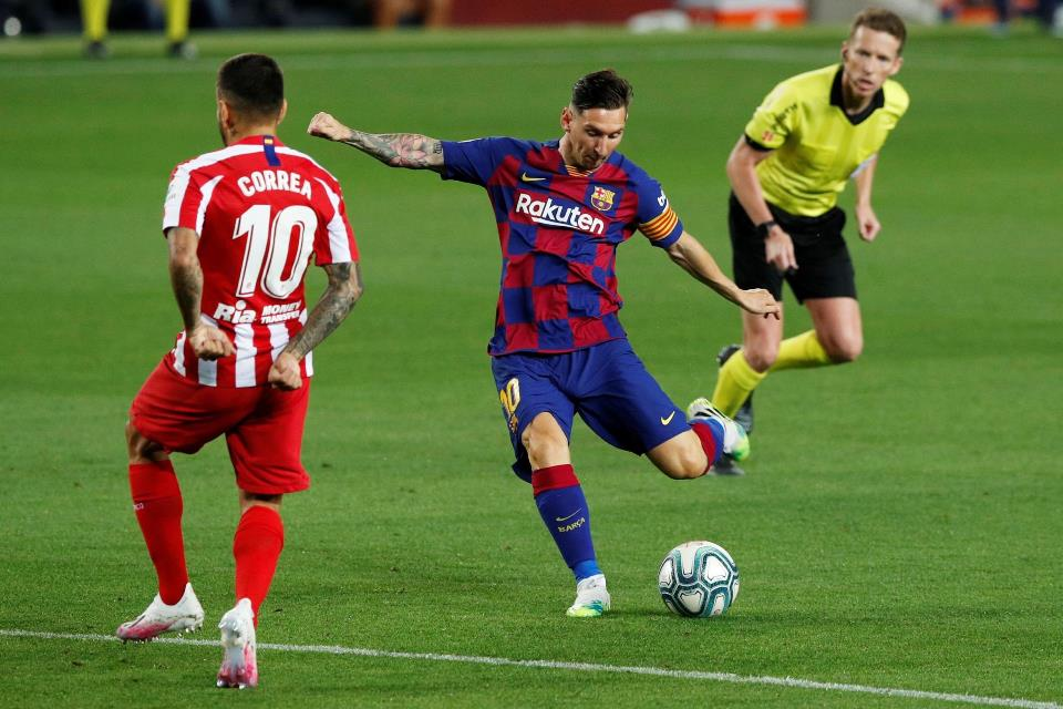 Diimbangi Atletico 2-2 Di Camp Nou, Barcelona Gagal Salip Madrid