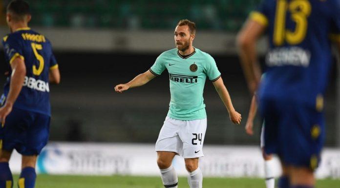 Christian Eriksen Inter Milan