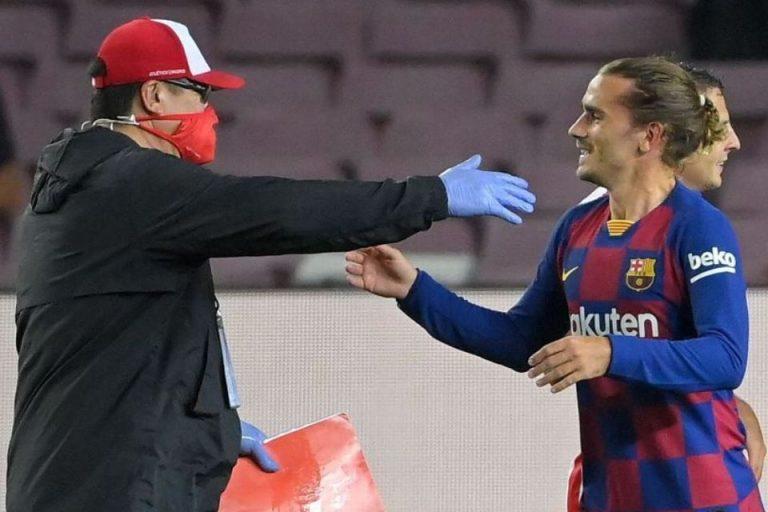 Dimbangi Atletico, Setien Luapkan Kekesalan Pada Griezmann