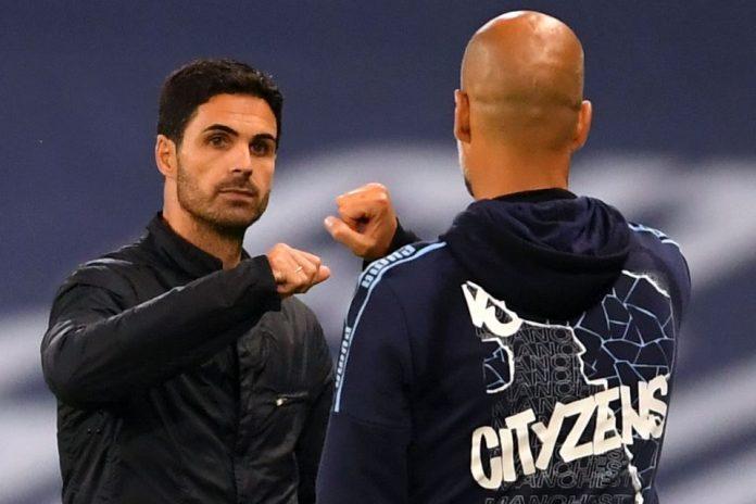 Guardiola and Arteta