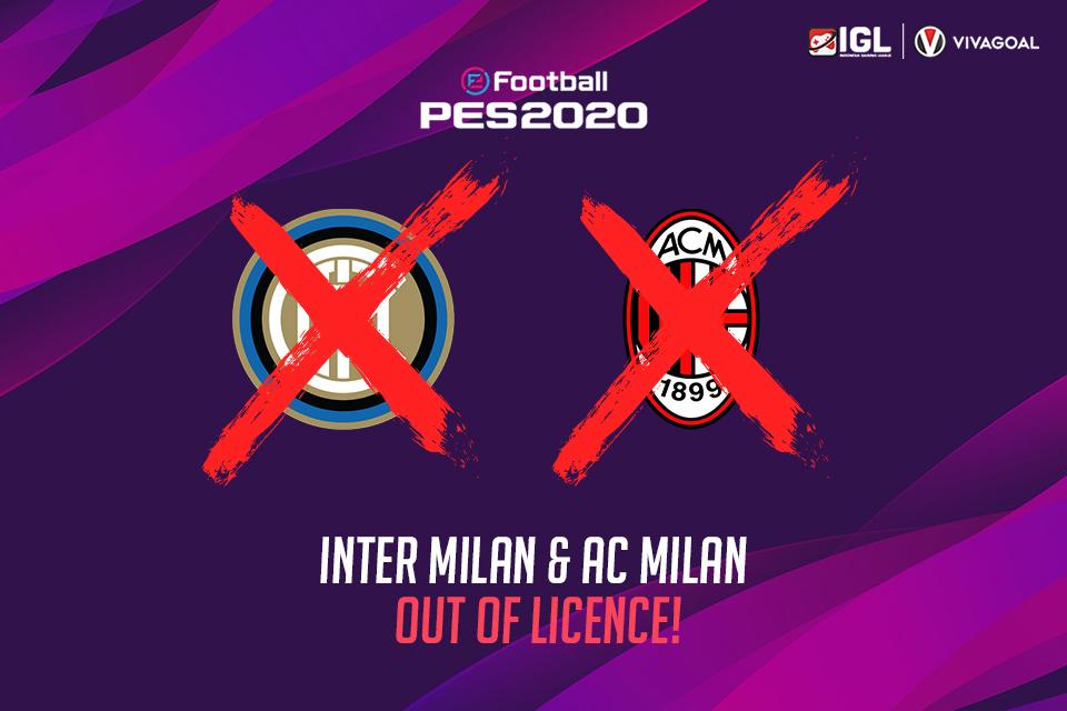 Duo Milan Bakal Hilang dari Game eFootball PES?