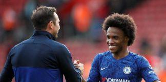 Jelang Final Piala FA, Lampard Dibuat Bimbang Dengan Rumor Willian ke Arsenal