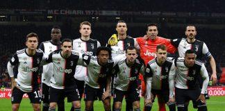 Juventus Starting Line Up