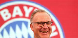 Karl-Heinz Rummenigge CEO Bayern Munchen