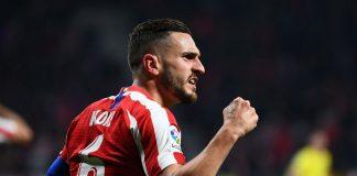 Koke Kapten Atletico Madrid