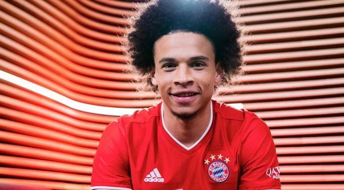 Leroy Sane Bayern Munchen