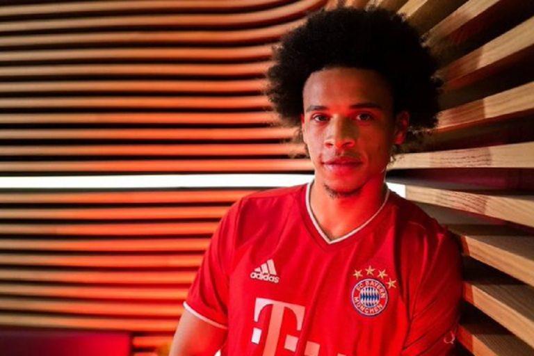 Foto Sane Teken Kontrak Di Bayern Bocor Di Sosial Media