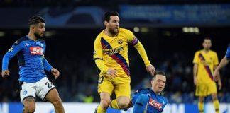 Lionel Messi vs Napoli