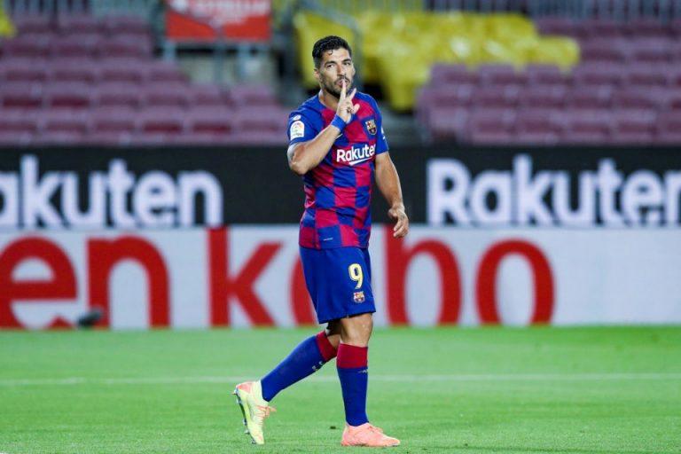 Tega! Luis Suarez Kirim Espanyol ke Segunda División