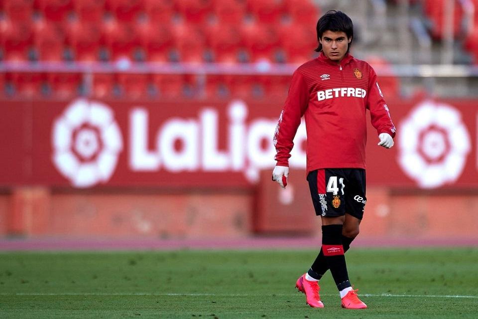 Luka Romero Real Mallorca digadang-gadang akan menjadi penerus Lionel Messi