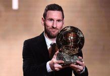 Messi berhasil memenangkan Ballon d'Or keenam kalinya