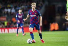 Musim Pertama Di Barcelona, Performa Frenkie De Jong Menjanjikan