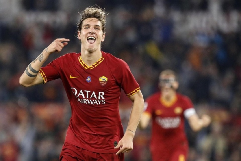 Nicolo Zaniolo AS Roma