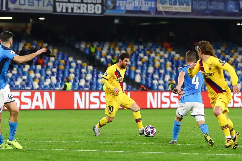 Pemerintah Spanyol Pastikan Laga Barcelona vs Napoli Aman digelar Di Camp Nou