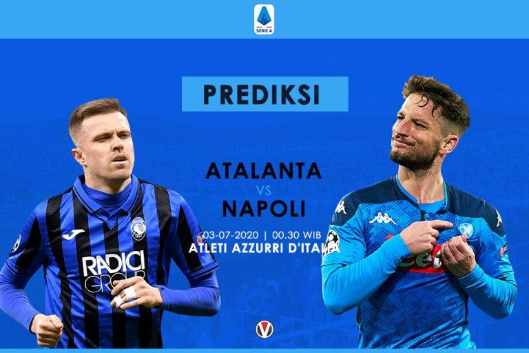 Prediksi Atalanta vs Napoli: Bentrok Dua Tim On Fire