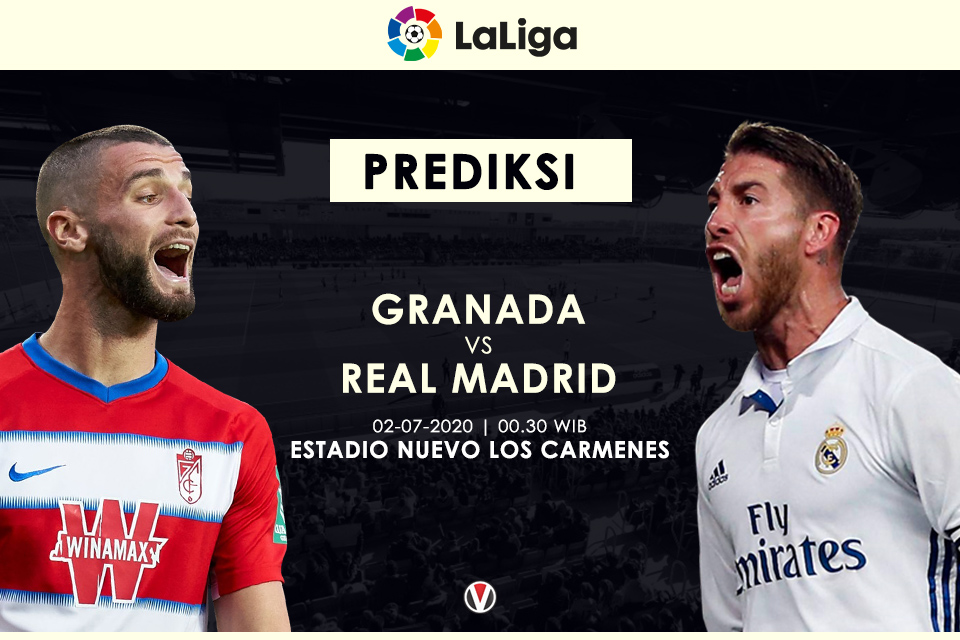 Prediksi Granada vs Real Madrid Menanti Tuah Sergio Ramos