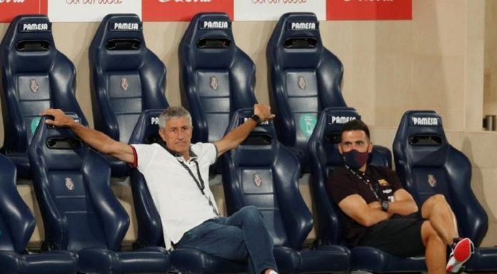 Quique Setien Coach Barcelona