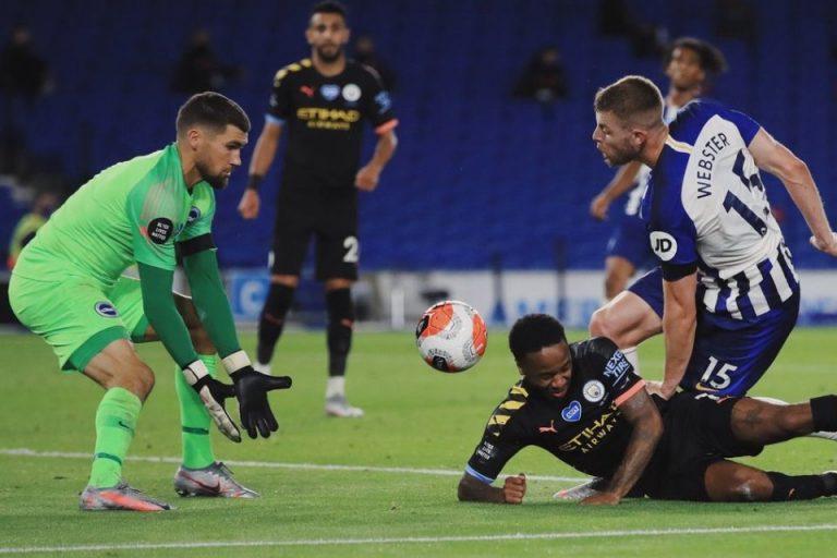 Raheem Sterling Sebut Gol Anehnya Ke Brighton Layak Jadi Gol Terbaik Tahun Ini, Kok Bisa?