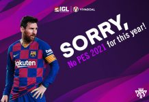 Konami Pastikan Tak merilis eFootball PES 2021