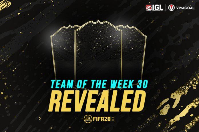 Persebaran Pemain yang Cukup Merata di TOTW 30 FIFA 20