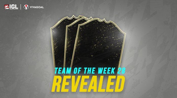 Kumpulan Bintang yang Masuk ke dalam Team of the Week 28