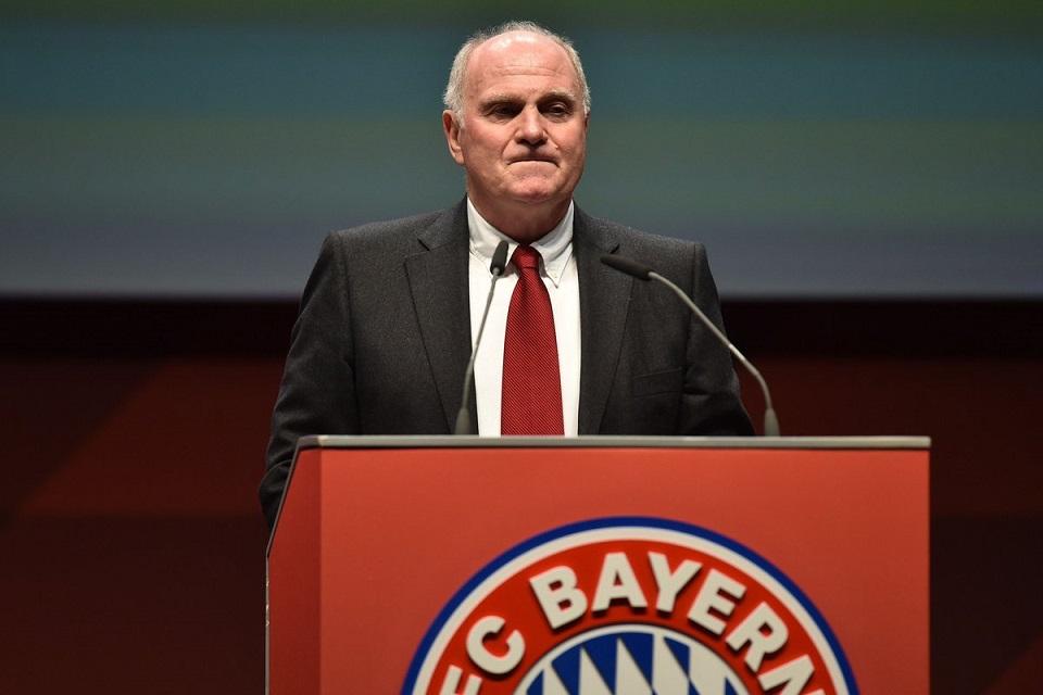 Uli Hoeness Bayern Munchen