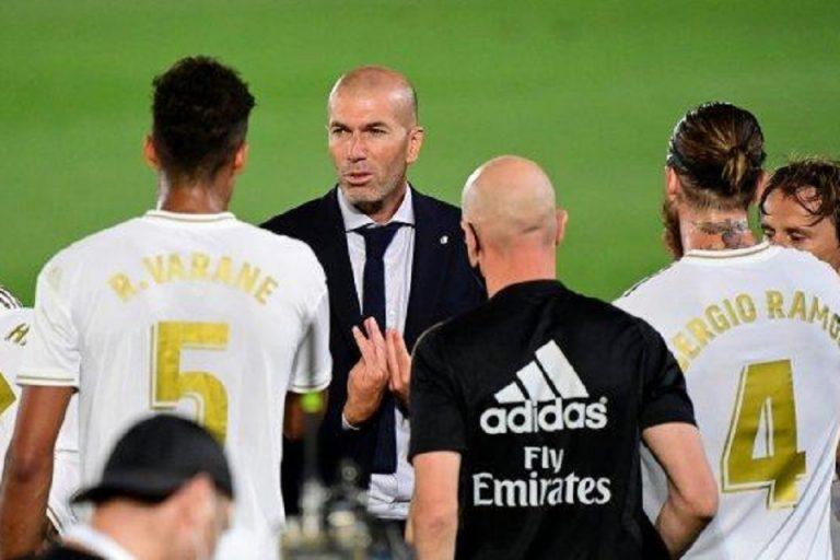 Peringatan Zidane Kepada Anak Asuhnya