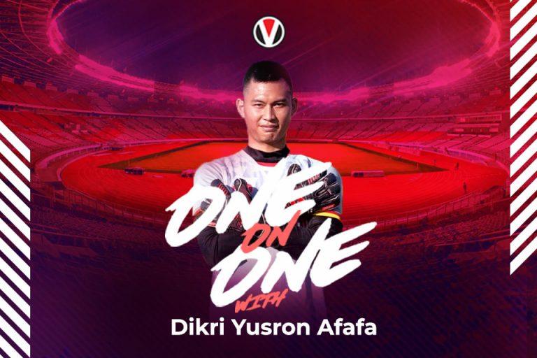 Vivagoal One on One Bersama Kiper Bertalenta Tanah Air: Dikri Yusron