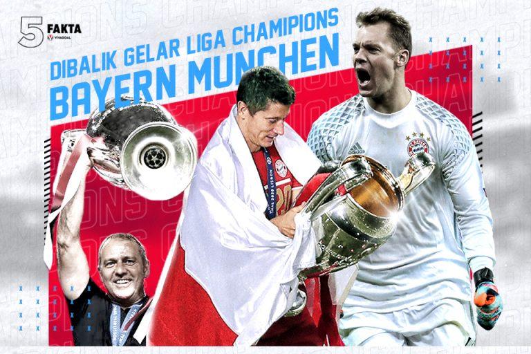 5 Fakta Dibalik Gelar Liga Champions Bayern Munchen