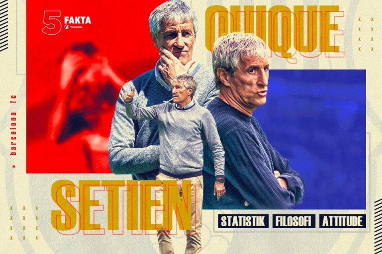 5 Fakta Pelatih Tercampakan Barcelona: Quique Setien
