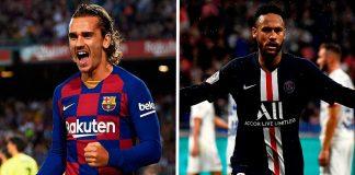 Bayern Munich Tegur Kejumawaan Neymar dan Griezmann