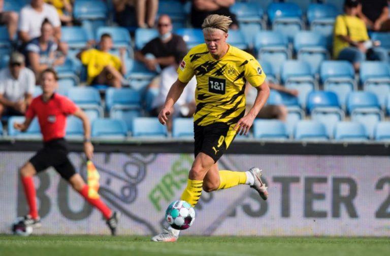 Agen Tegaskan Erling Haaland Bertahan Di Borussia Dortmund