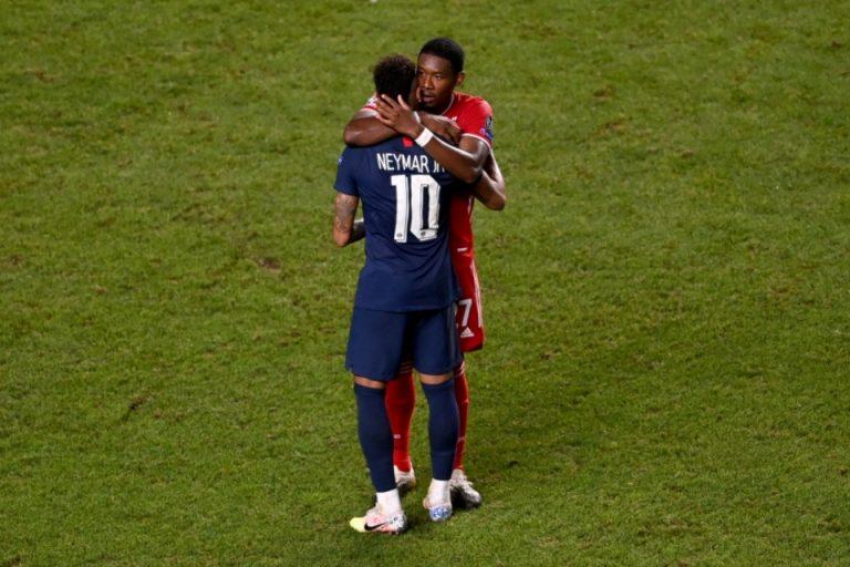 Aksi Alaba Pada Neymar Usai Final UCL Menuai Pujian