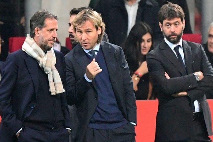 Andrea Agnelli Paulo Nedved dan Fabio Paratici
