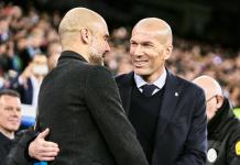 Catatan Head To Head Zidane vs Guardiola Sama Kuat