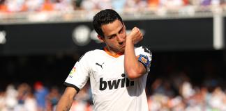 Dani Parejo, sang kapten Valencia