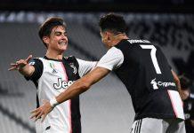 Dybala Selebrasi bersama Ronaldo