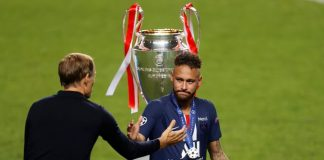 Isak Tangis Neymar Usai Gagal Bawa PSG Juara UCL