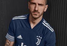 Bonucci Jersey Away Juventus Baru