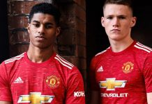 Jersey anyar Man United