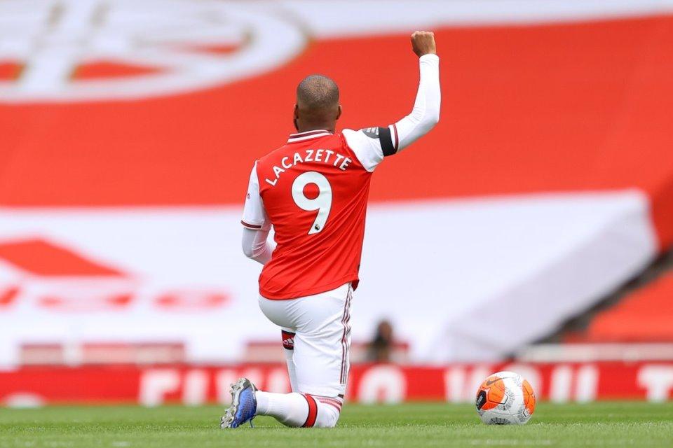 Jika Aubameyang Pergi, Lacazette Juga Hengkang Dari Arsenal
