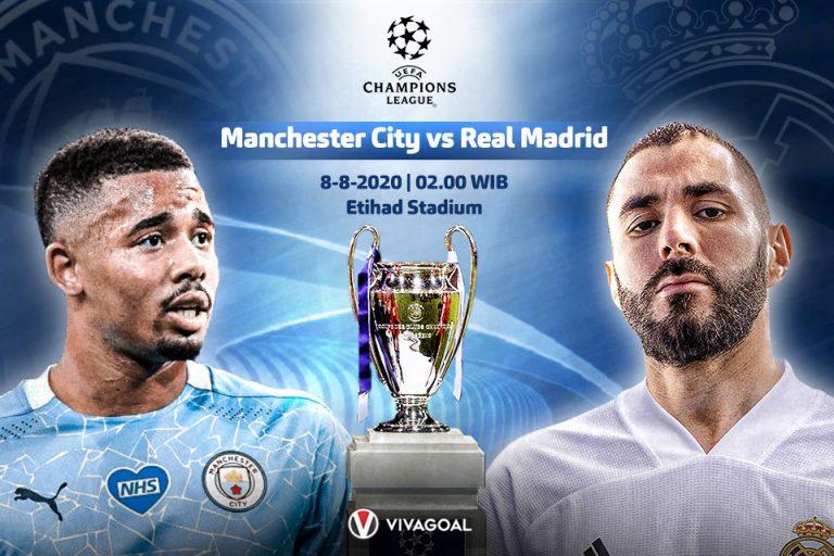 Prediksi Man City Vs Madrid: Catatan Tandang Los Blancos Lawan Tim Inggris Anjlok