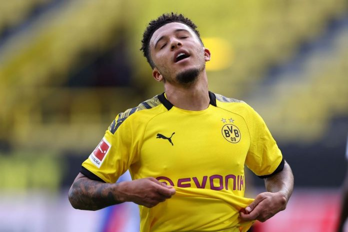 Media Jerman Sebut MU Belum Pernah Jalin Komunikasi Perihal Transfer Jadon Sancho