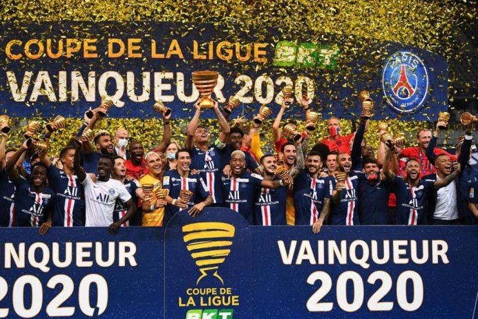 Menang Adu Penalti Kontra Lyon, PSG Bungkus Trofi Coupe de Ligue